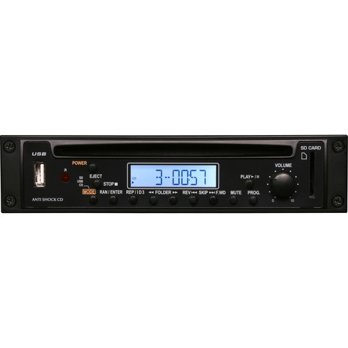 Galaxy Audio RM-CD Traveler Series CD/MP3 Player