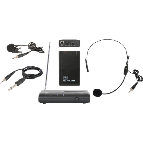 Galaxy Audio VES Triple Play Wireless Microphone System (V61)
