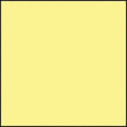 "Gam GC475  GamColor Colored Cine Filter #475 (Pale Yellow) (20x24"" Sheet)"