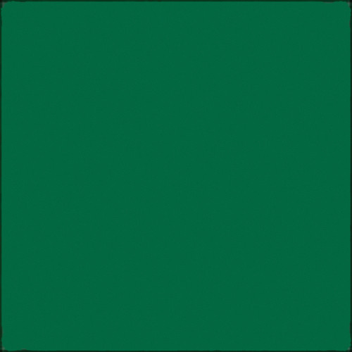 """GAM GC655  GamColor Colored Cine Filter #655 (Rich Green) (20x24"""" Sheet)"""