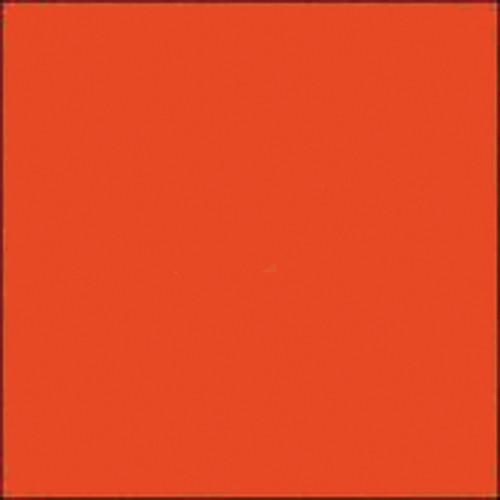 "Gam GCA290 GamColor Colored Cine Filter #290 (Fire Orange) (24""x50' Roll)"