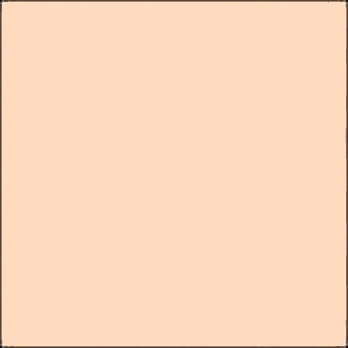"""GAM GamColor #338 Filter - Forever Amber / Naked Cosmetics # NCR9 Filter - Rosey Hi-Light - 24""""x50' Roll"""