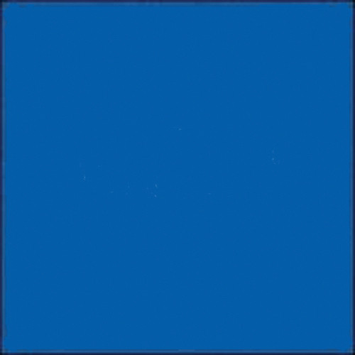 "Gam GCA815  GamColor Colored Cine Filter #815 (Moody Blue) (24""x50' Roll)"