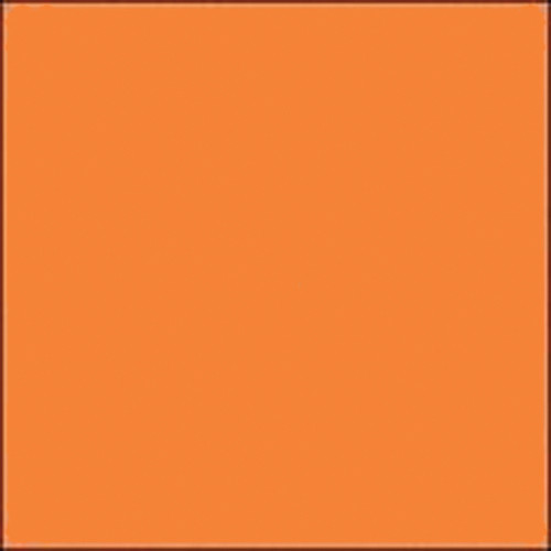 """Gam GCB375  GamColor Colored Cine Filter #375 (Flame) (48""""x25' Roll)"""