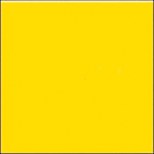 """GAM GCB480  GamColor Colored Cine Filter #480 (Medium Yellow) (48""""x25' Roll)"""