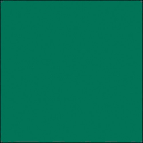 """GAM GCB670  GamColor Colored Cine Filter #670 (Emerald Green) (48""""x25' Roll)"""