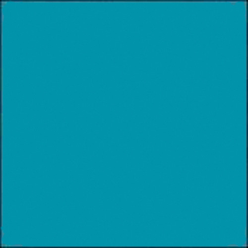 """Gam GCB725  GamColor Colored Cine Filter #725 (Princess Blue) (48""""x25' Roll)"""