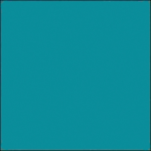 "Gam #730 GamColor Azure Blue Filter Roll (48"" x 25')"