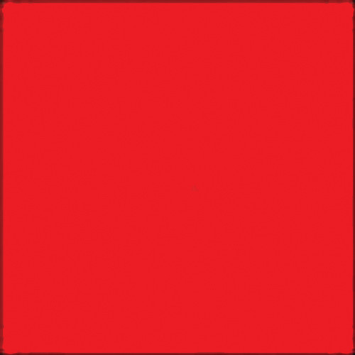 """GAM GCJR280 GamColor Colored Cine Filter #280 (Fire Red) (24x198"""" Roll)"""