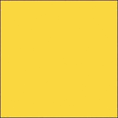 "Gam GCJR460  GamColor Colored Cine Filter #460 (Mellow Yellow) (24x198"" Roll)"