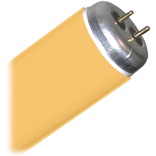"Gam GamTube T12/48"" Fluorescent Sleeve (Medium Amber)"