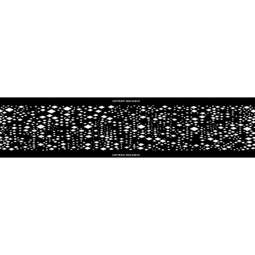 Gam Diamonds Pattern FX/Loop for Film/FX Gobo Rotator