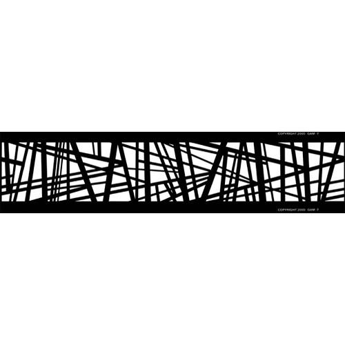 Gam Construction Pattern FX/Loop for Film/FX Gobo Rotator