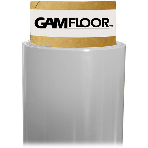 "Gam GamFloor Roll (48"" x 100' / 1.2 x 30.5 m), (Gloss Clear)"