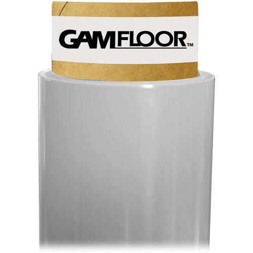 "Gam GamFloor Roll (48"" x 100' / 1.2 x 30.5 m), (Gloss Clear)"