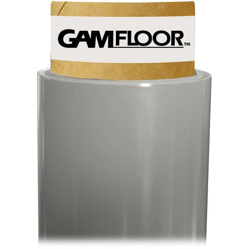"""Gam GamFloor Roll (48"""" x 50' / 1.2 x 15.2 m), (Studio Gloss Gray)"""