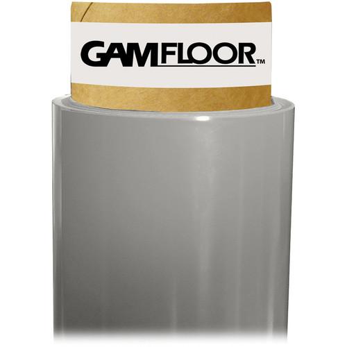 """Gam GamFloor Roll (48"""" x 100' / 1.2 x 30.5 m), (Studio Gloss Gray)"""