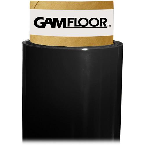 """Gam GamFloor Roll (48"""" x 100' / 1.2 x 30.5 m), (Gloss Soft Black)"""