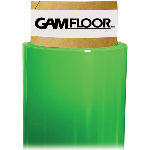 "Gam GamFloor Roll (48"" x 100' / 1.2 x 30.5 m), (Gloss Forest Green)"