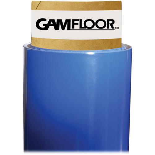 "Gam GamFloor Roll (48"" x 50' / 1.2 x 15.2 m), (Gloss Deep Blue)"