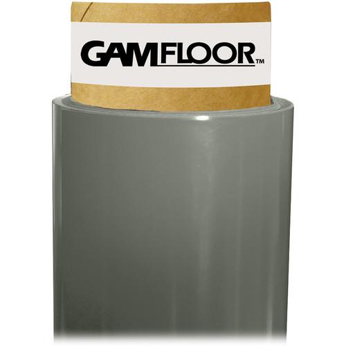 "Gam GamFloor Roll (48"" x 50' / 1.2 x 15.2 m), (Pewter)"