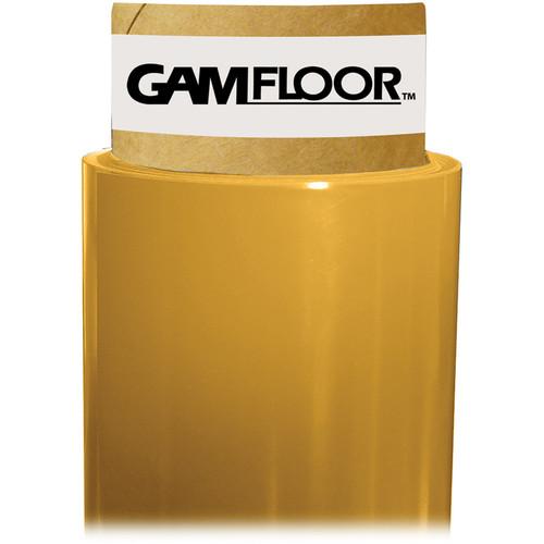 "Gam GamFloor Roll (48"" x 50' / 1.2 x 15.2 m), (Matte Golden Bronze)"