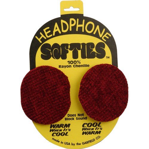 Garfield Headphone Softie Earpad Covers (Red, Pair)