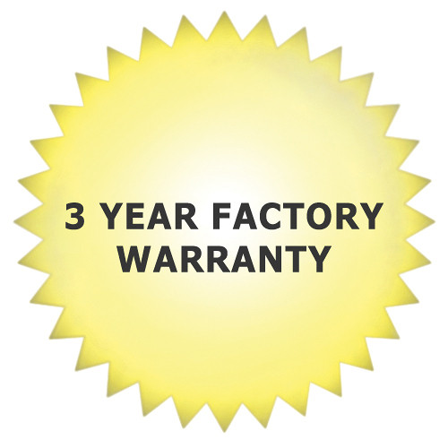 Garner 3-Year Factory Warranty for PM-10 Digital Video Tape Degausser
