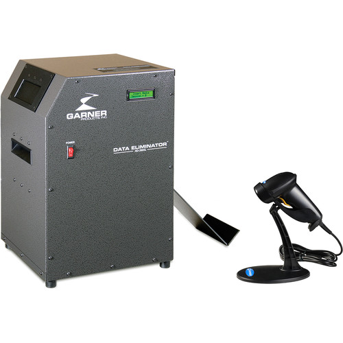 Garner Hard Drive Degausser, Model HD-3 (110-125VAC, 50/60 Hz
