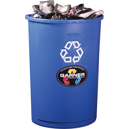 Garner MB-1B Blue Recycle Container