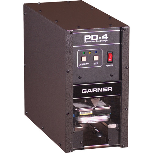 Garner PD-4 Physical Hard Drive Destroyer