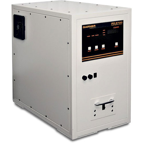 Garner PD-8700 Hard Drive Degausser and Physical Hard Drive Destroyer