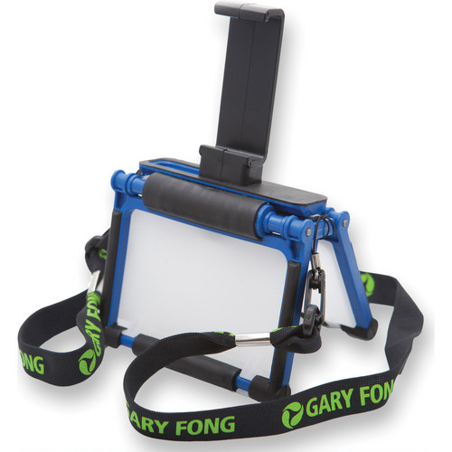 Gary Fong Flip-Cage with Tripod Adapter for iPhone 4/4S (Blue)