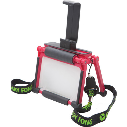 Gary Fong Flip-Cage with Tripod Adapter for iPhone 4/4S (Red)
