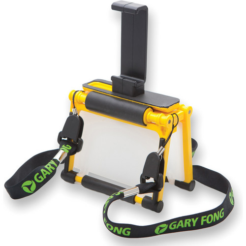 Gary Fong Flip-Cage with Tripod Adapter for iPhone 4/4S (Yellow)