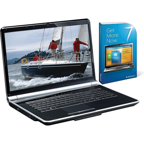 """Gateway NV7309u 17.3"""" Notebook Computer with Windows 7 Professional Upgrade (Cherry Red)"""