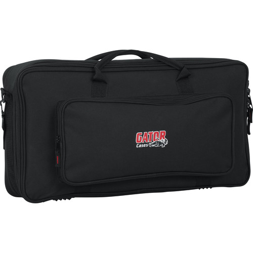 Gator GK-2110 Gig Bag for Micro Keyboards, Audio Mixers, Guitar Multi-Effects Processors, or Pro DJ Mixers