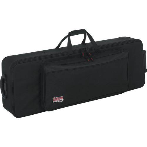 Gator Cases GK-61-SLIM Slim Lightweight Style, 61 Note Keyboard Case (Black)