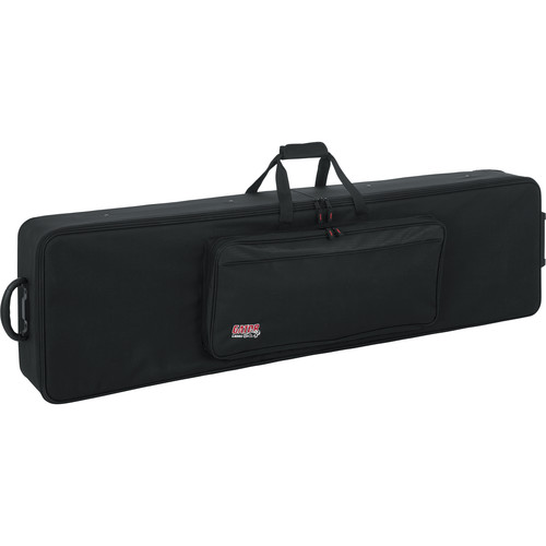 Gator Cases GK-88 SLXL Slim, Extra Long 88 Note Lightweight Keyboard Case (Black)