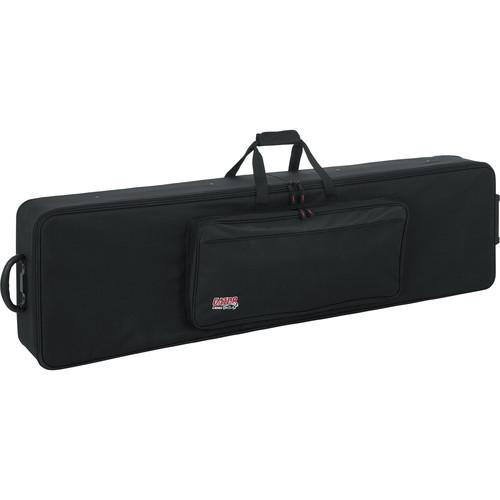 Gator Cases GK-88 SLXL Slim, Extra Long 88 Note Lightweight Keyboard Case (Black)