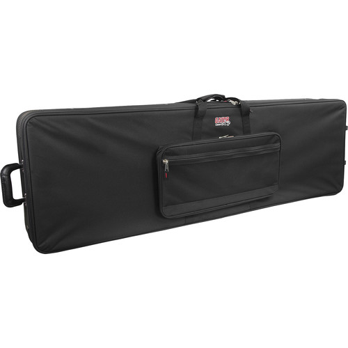 Gator Cases GK-88 XL Extra Long 88 Note Lightweight Keyboard Case; Slim