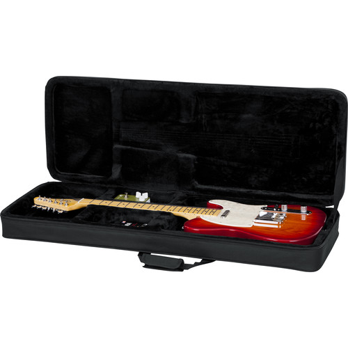 Gator Cases Rigid EPS Foam Lightweight Case for Electric Guitars