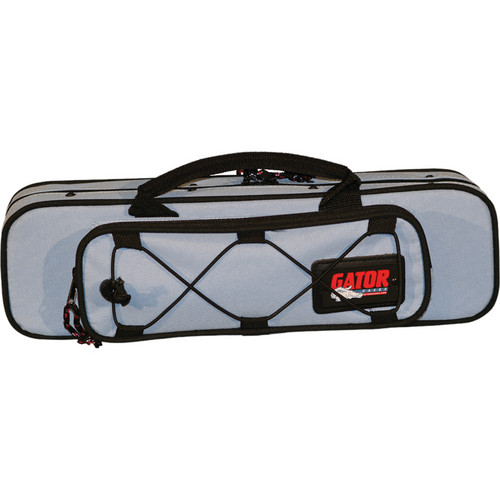 Gator Cases GL-FLUTE Rigid EPS Foam Lightweight Case for Flute (Blue)