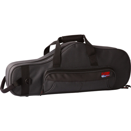 Gator Cases GL-TENOR-SAX-A Rigid EPS Foam Lightweight Case for Tenor Sax (Black)