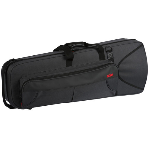 Gator Cases Lightweight Trombone Case with Internal Accommodation for F-Attachment