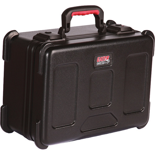 Gator Cases GM-15-TSA ATA Molded Wired Mic Case