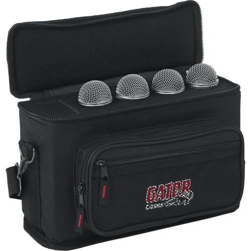 Gator Cases GM-4 4 Drop Mic Padded Bag