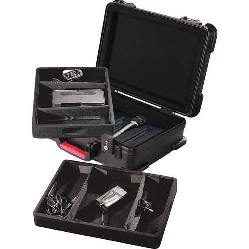 Gator Cases GM-7W-TSA ATA Molded Wireless Mic Case