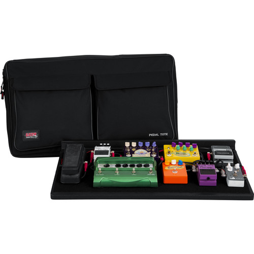 Gator Cases Pro Size Pedalboard with Carry Bag and Power Supply