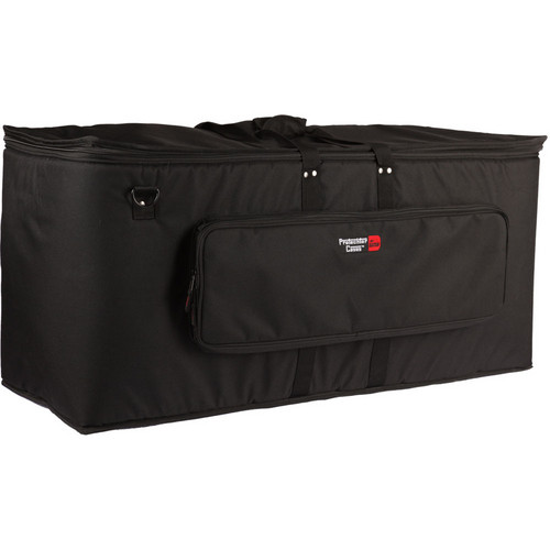 Gator Cases GP-EKIT3616-BW Large Electronic Drum Kit Bag with Wheels (Black)
